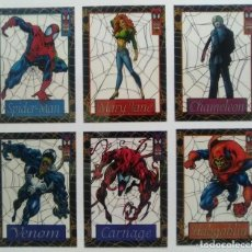 Trading Cards: TRADING CARDS SPIDERMAN 1994 LIMITED ED SUBSET CARDS COMPLETA (12 UD.) SUSPENDED ANIMATION. - SUB01Q. Lote 265800589