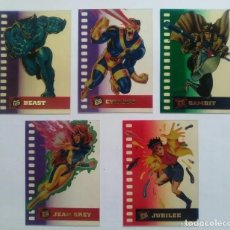 Trading Cards: TRADING CARDS X-MEN FLEER ULTRA 1995 COLECCION COMPLETA DE ESPECIALES SUSPENDED ANIMATION. - SUB01Q. Lote 265801629