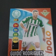 Trading Cards: GUIDO RODRÍGUEZ 2021. Lote 268433509