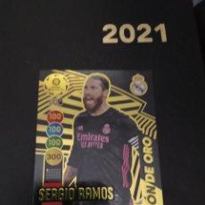 Trading Cards: SERGIO RAMOS BALÓN DE ORO 2021. Lote 268437079