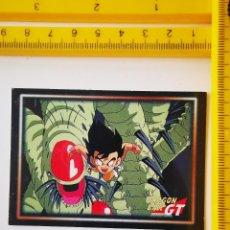 Trading Cards: CROMO TRADING CARD PANINI SERIE 1 DRAGON BALL GT 58 MOOMAS BONPARA. Lote 269229878