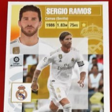 Trading Cards: CROMO LIGA ESTE PANINI 2020 2021 20-21 SERGIO RAMOS REAL MADRID. Lote 269594728