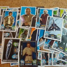 Trading Cards: LOTE DE 57 CARTAS DE STAR WARS O LA GUERRA DE LAS GALAXIAS. Lote 270177448