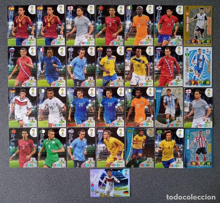 Trading Cards: Lote cartas trading cards Adrenalyn futbol Panini - Foto 2 - 270976123