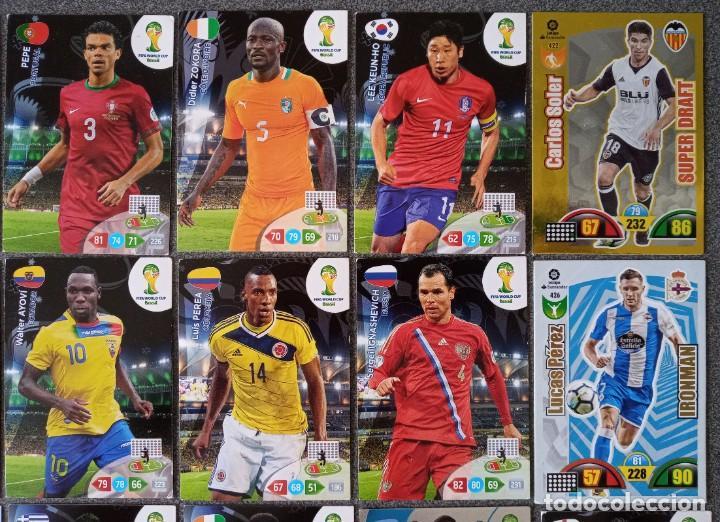 Trading Cards: Lote cartas trading cards Adrenalyn futbol Panini - Foto 4 - 270976123