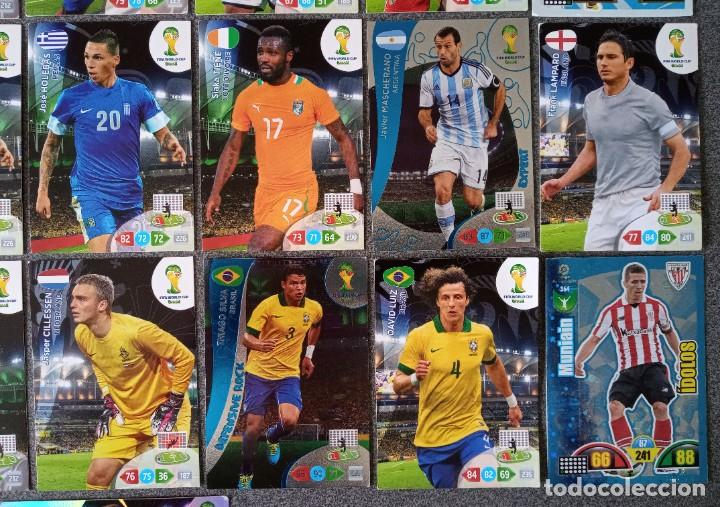Trading Cards: Lote cartas trading cards Adrenalyn futbol Panini - Foto 6 - 270976123