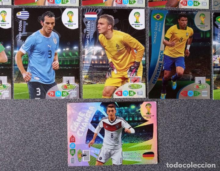 Trading Cards: Lote cartas trading cards Adrenalyn futbol Panini - Foto 7 - 270976123
