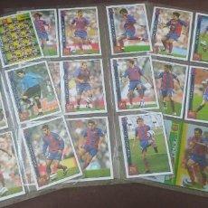 Trading Cards: LOTE 27 CROMOS FUTBOL F.C. BARCELONA MUNDICROMO LAS FICHAS DE LA LIGA 2005-2006. Lote 271150973