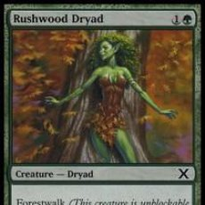 Trading Cards: RUSHWOOD DRYAD - MTG CARD - TENTH EDITION - 10E- LINGUA:ITA - EX - MTG. Lote 271594713