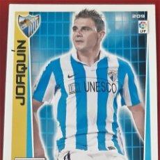 Trading Cards: CARD PANINI ADRENALYN XL JOAQUIN MALAGA. Lote 271601873
