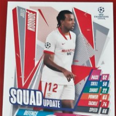 Trading Cards: CARD TOPPS MATCH ATTAX CHAMPIONS LEAGUE EXTRA JULES KOUNDE SEVILLA SQUAD UPDATE. Lote 271602783