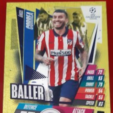Trading Cards: CARD TOPPS MATCH ATTAX CHAMPIONS LEAGUE EXTRA ANGEL CORREA ATLETICO MADRID BALLER. Lote 271605328