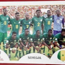 Trading Cards: CROMO PANINI 2018 WORLD CUP RUSSIA SENEGAL EQUIPO. Lote 271605923