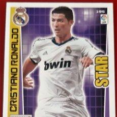 Trading Cards: CARD PANINI ADRENALYN XL CRISTIANO RONALDO STAR REAL MADRID. Lote 271610073
