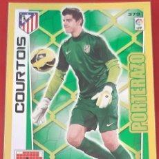 Trading Cards: CARD PANINI ADRENALYN XL COURTOIS ATLETICO DE MADRID PORTERAZO. Lote 271611308