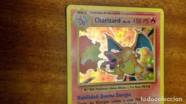 Trading Cards: CROMO / TARJETA POKEMON CHARIZARD HOLO EN ESPAÑOL - Foto 2 - 271864013