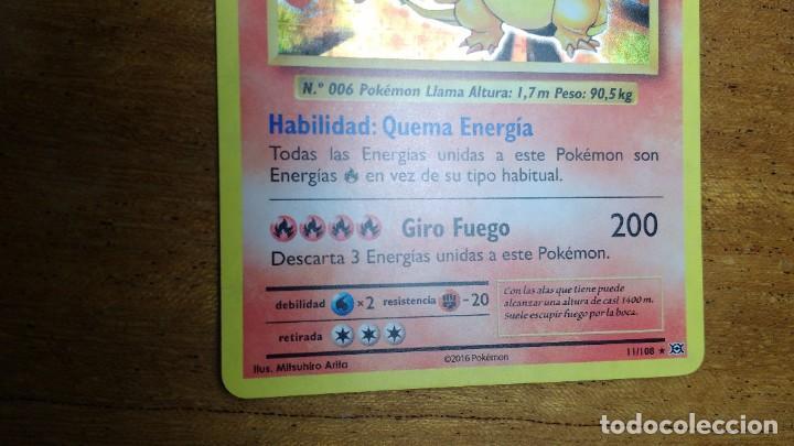 Trading Cards: CROMO / TARJETA POKEMON CHARIZARD HOLO EN ESPAÑOL - Foto 3 - 271864013