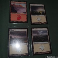 Trading Cards: 4 CARTAS MAGIC THE GATERING. Lote 272916903