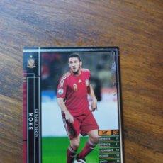 Trading Cards: KOKE PANINI WCCF FOOTISTA 2015 2016 ESPAÑA SPAIN SELECCIÓN ESPAÑOLA CARD JAPONESA (NO ATLÉTICO). Lote 273000393