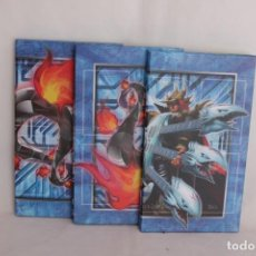 Trading Cards: LOTE DE TRES TABLEROS DE CARTAS YU-GI-OH TRADING CARD GAME LEGENDARY COLLECTION KAIBA. Lote 275329698