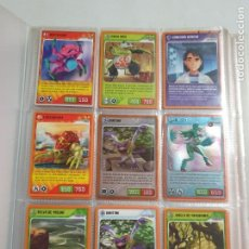 Trading Cards: INVIZIMALS ALBUM CON MAS DE 150 TRADING CARDS ESTADO BUENO MAS ARTICULOS. Lote 276221878