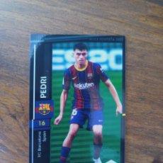 Trading Cards: PEDRI ROOKIE CARD JAPONESA PANINI JAPÓN WCCF FOOTISTA 2021 COMESTIC CLASS FC BARCELONA. Lote 277011743