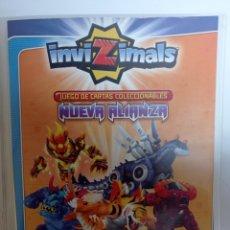 Trading Cards: ALBUM INVIZIMALS NUEVA ALIANZA, 480 CARTAS DE DIFERENTES COLECCIONES INVIZIMALS. Lote 277178083