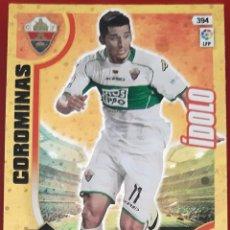 Trading Cards: CARD PANINI ADRENALYN XL COROMINAS IDOLO ELCHE. Lote 277616383