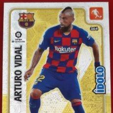 Trading Cards: CARD PANINI ADRENALYN XL ARTURO VIDAL IDOLO BARCELONA. Lote 277616463