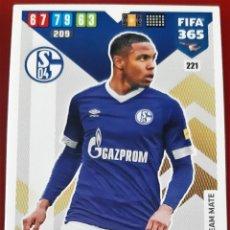 Trading Cards: CARD PANINI FIFA 365 WESTON MCKENNIE SCHALKE 04. Lote 277616713