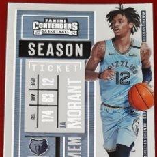 Trading Cards: CARD PANINI CONTENDERS NBA 2020-21 JA MORANT MEMPHIS GRIZZLIES. Lote 277619583