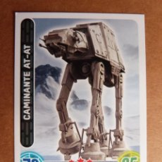 Trading Cards: CROMO Nº 74 TOPPS FORCE ATTAX STAR WARS - VEHICULO CAMINANTE AT-AT. Lote 278415413