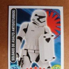 Trading Cards: CROMO Nº 92 TOPPS FORCE ATTAX STAR WARS - SOLDADO DE ASALTO ANTIDISTURBIOS. Lote 278416158