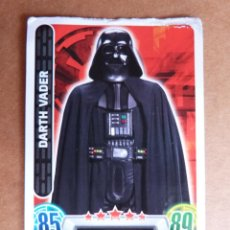 Trading Cards: CROMO Nº 116 TOPPS FORCE ATTAX STAR WARS - SITH DARTH VADER. Lote 278416413