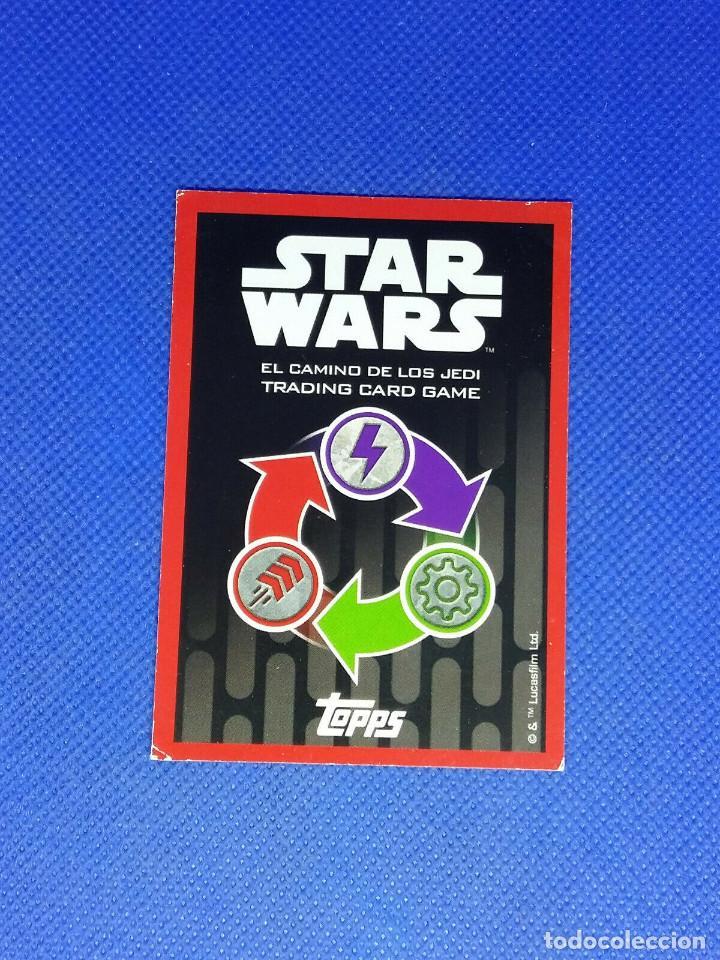 Trading Cards: Star Wars Topps TCG Carta Nº 61 - Foto 2 - 278424933