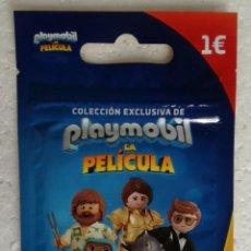 Trading Cards: SOBRE PLAYMOBIL LA PELICULA, CON 3 CARTAS LENTICULARES. Lote 278614493