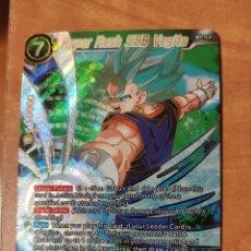 Trading Cards: BT3-063 SPR HYPER RUSH VEGITO (DATA IC JCC GT KAI SPR TRADING SUPER CARD GAME TRADING FULL SET). Lote 278626063