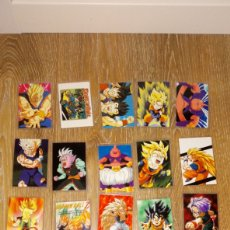 Trading Cards: LOTE 20 RAMI CARDS DRAGON BALL Z NORMA EDITORIAL DIFERENTES SERIES. Lote 278630618
