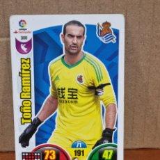 Trading Cards: ADRENALYN 17/18 - TOÑO RAMÍREZ N°300 REAL SOCIEDAD. Lote 278919528