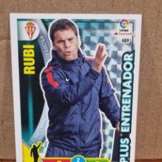 Trading Cards: ADRENALYN 16/17 - RUBI N°489 SPORTING GIJON. Lote 278921063