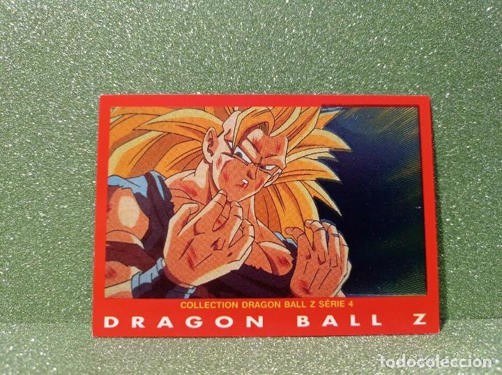CARTA DRAGON BALL Z SERIE 4 Nº 66 SON GOKUH 3ER NIVEL SUPER SAIYAN (Coleccionismo - Cromos y Álbumes - Trading Cards)