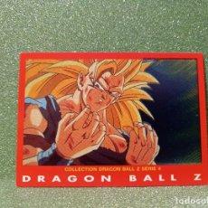 Trading Cards: CARTA DRAGON BALL Z SERIE 4 Nº 66 SON GOKUH 3ER NIVEL SUPER SAIYAN. Lote 279405533