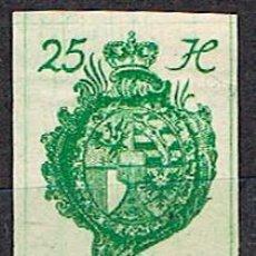 Trading Cards: LIECHTENSTEIN IVERT Nº 21 (AÑO 1920), ESCUDO, NUEVO SIN DENTAR. Lote 279570308