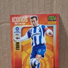 Trading Cards: MEGACRACKS 21/22 - FRAN N°418 ICONOS DE LA LIGA. Lote 280691518