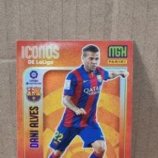 Trading Cards: MEGACRACKS 21/22 - DANI ALVES N°414 ICONOS DE LA LIGA. Lote 280691688
