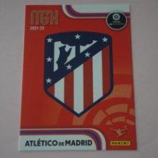 Trading Cards: TRADING CARD DE FÚTBOL ESCUDO DEL ATLETICO DE MADRID Nº 37 LIGA MEGACRACKS 2021-2022/21-22 PANINI. Lote 294279813