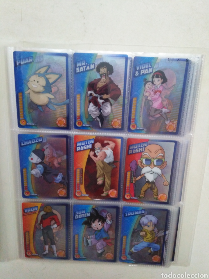 LOTE DE 113 CARTAS DRAGÓN BALL Z ( PANINI ) TODAS DIFERENTES (Coleccionismo - Cromos y Álbumes - Trading Cards)