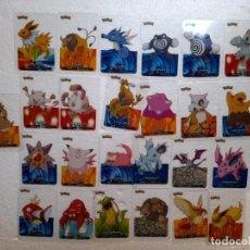 Trading Cards: POKEMON CARTAS TRANSPARENTES EDIBAS LAMINCARDS 2005. Lote 284294233