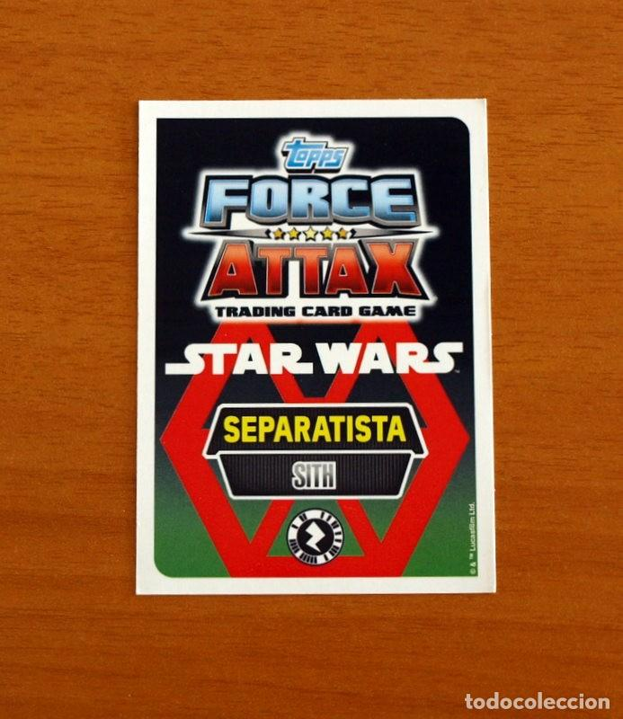Trading Cards: Star Wars - Nº 14, Darth Sidious, Sith - Topps Force Attax - Trading Card Game - Foto 2 - 284609963