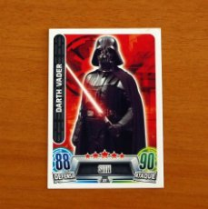 Trading Cards: STAR WARS - Nº 27, DARTH VADER, SITH - TOPPS FORCE ATTAX - TRADING CARD GAME. Lote 284615803